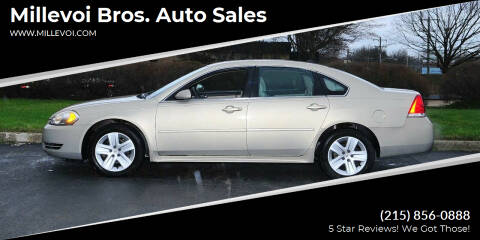 2011 Chevrolet Impala for sale at Millevoi Bros. Auto Sales in Philadelphia PA