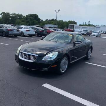 2002 Lexus SC 430 for sale at Coast to Coast Imports in Fishers IN