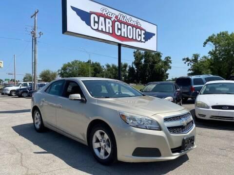 2013 Chevrolet Malibu for sale at Ray Hibdon's Car Choice in Oklahoma City OK
