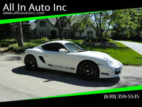 2007 Porsche Cayman for sale at All In Auto Inc in Addison IL