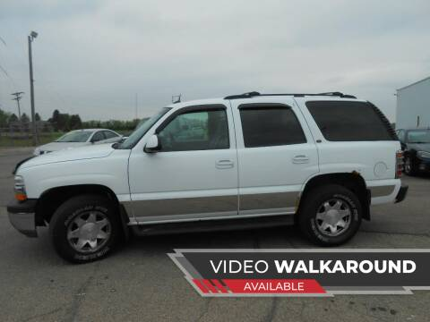 2005 Chevrolet Tahoe for sale at Salmon Automotive Inc. in Tracy MN