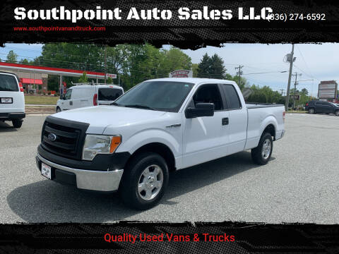 2014 Ford F-150 for sale at Southpoint Auto Sales LLC in Greensboro NC