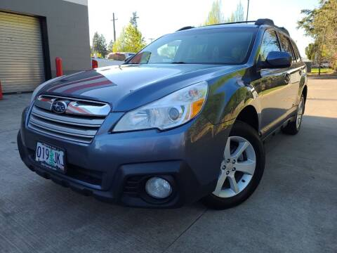2014 Subaru Outback for sale at A1 Group Inc in Portland OR