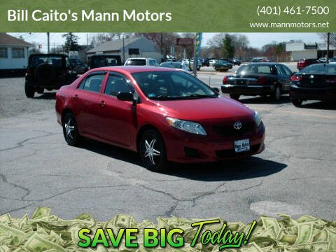 2009 Toyota Corolla for sale at Bill Caito's Mann Motors in Warwick RI