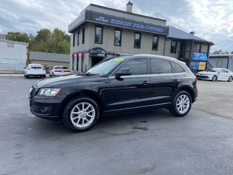 2010 Audi Q5 for sale at Sisson Pre-Owned in Uniontown PA