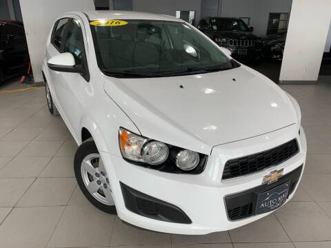2016 Chevrolet Sonic for sale at Auto Mall of Springfield in Springfield IL
