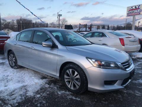 2014 Honda Accord for sale at SKY AUTO SALES in Detroit MI