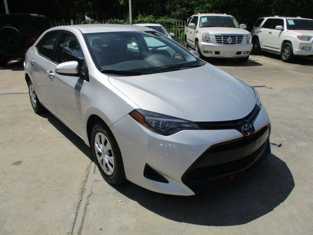 2017 Toyota Corolla for sale at Lone Star Auto Center in Spring TX
