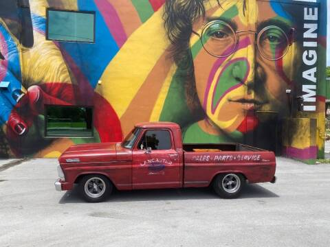1970 Ford F-100 for sale at BIG BOY DIESELS in Ft Lauderdale FL