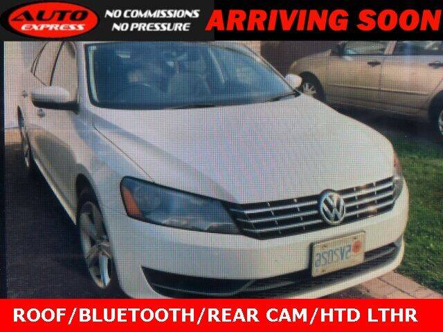 2015 Volkswagen Passat for sale at Auto Express in Lafayette IN