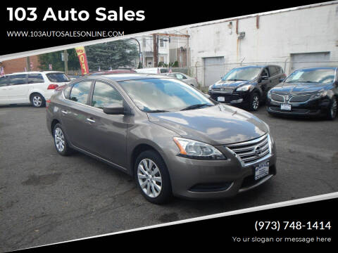 2015 Nissan Sentra for sale at 103 Auto Sales in Bloomfield NJ