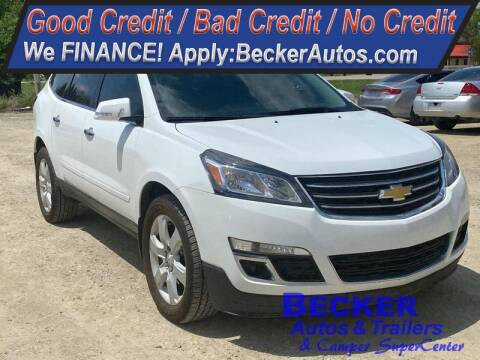 2016 Chevrolet Traverse for sale at Becker Autos & Trailers in Beloit KS