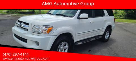 2006 Toyota Sequoia for sale at AMG Automotive Group in Cumming GA