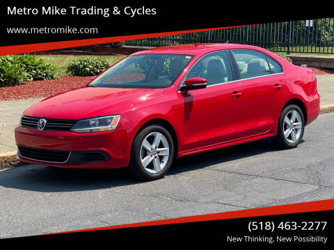 2013 Volkswagen Jetta for sale at Metro Mike Trading & Cycles in Albany NY