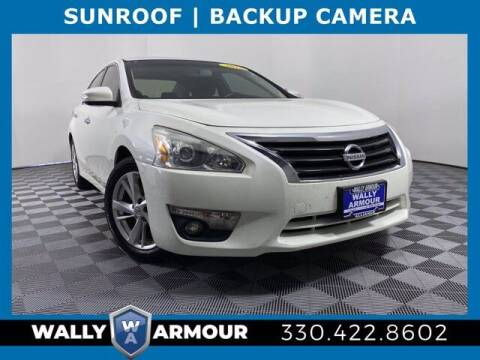2013 Nissan Altima for sale at Wally Armour Chrysler Dodge Jeep Ram in Alliance OH