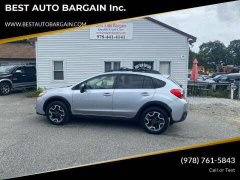 2016 Subaru Crosstrek for sale at BEST AUTO BARGAIN inc. in Lowell MA