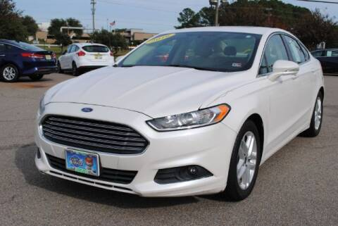 2016 Ford Fusion for sale at Shore Drive Auto World in Virginia Beach VA
