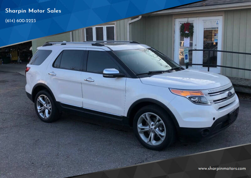 2012 Ford Explorer for sale at Sharpin Motor Sales in Columbus OH