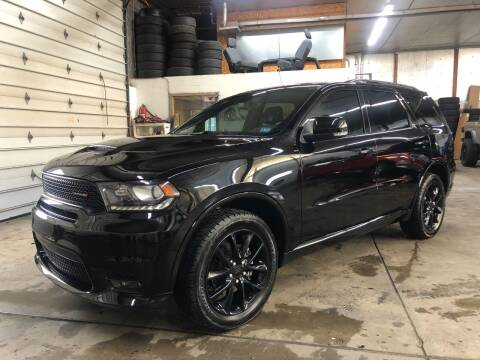 2018 Dodge Durango for sale at T James Motorsports in Gibsonia PA
