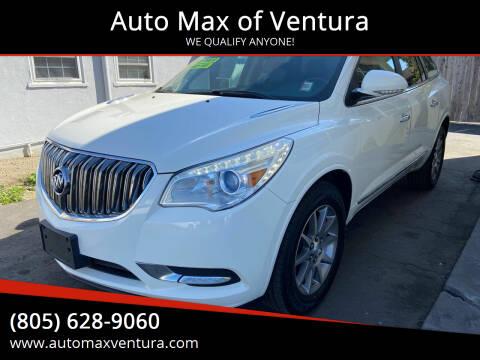 2014 Buick Enclave for sale at Auto Max of Ventura - Automax 3 in Ventura CA