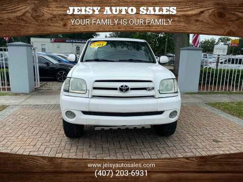 2004 Toyota Tundra for sale at JEISY AUTO SALES in Orlando FL