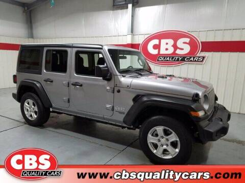 2019 Jeep Wrangler Unlimited for sale at CBS Quality Cars in Durham NC