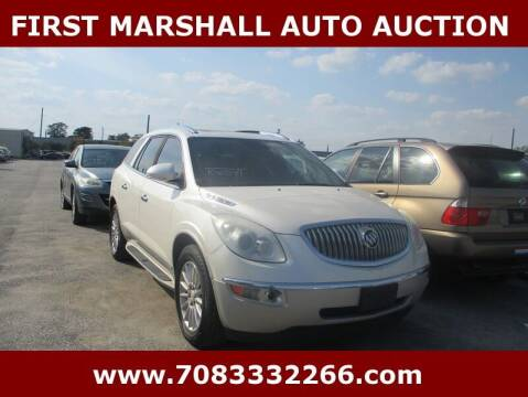 2009 Buick Enclave for sale at First Marshall Auto Auction in Harvey IL