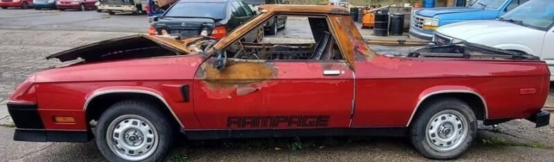 1983 Dodge Rampage for sale at JEREMYS AUTOMOTIVE in Casco MI