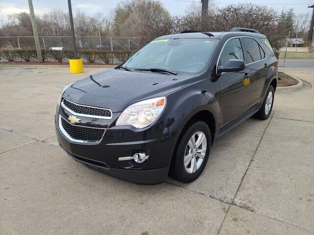 2012 Chevrolet Equinox for sale at G & R Auto Sales in Detroit MI