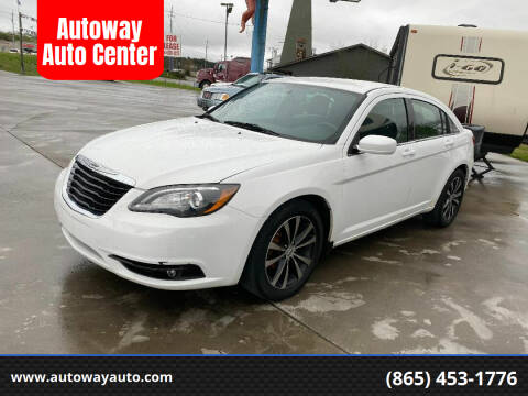 2013 Chrysler 200 for sale at Autoway Auto Center in Sevierville TN