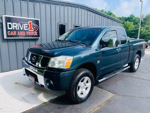 2004 Nissan Titan for sale at Drive 1 Car & Truck in Springfield OH
