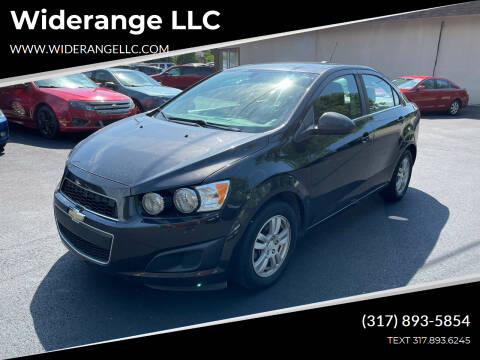 2015 Chevrolet Sonic for sale at Widerange LLC in Greenwood IN