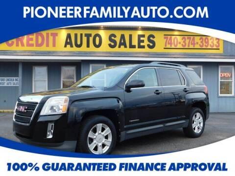 2011 GMC Terrain for sale at Pioneer Family auto in Marietta OH