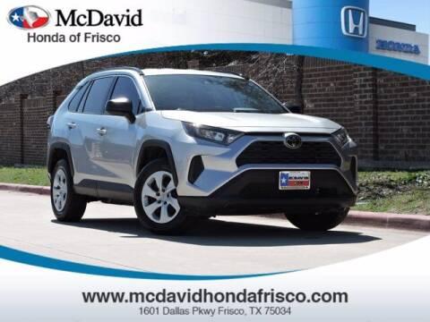 2019 Toyota RAV4 for sale at DAVID McDAVID HONDA OF IRVING in Irving TX