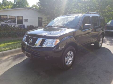 2011 Nissan Pathfinder for sale at TR MOTORS in Gastonia NC
