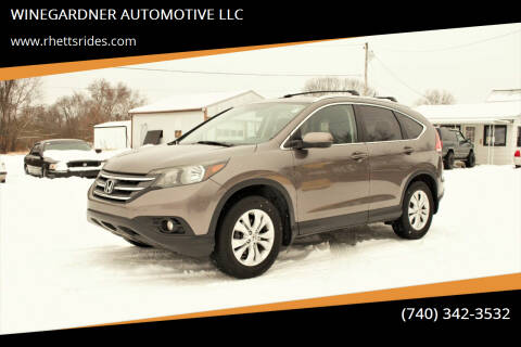 2013 Honda CR-V for sale at WINEGARDNER AUTOMOTIVE LLC in New Lexington OH