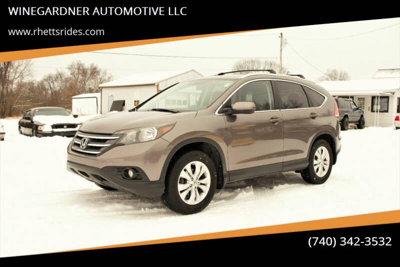 2013 Honda CR-V for sale at WINEGARDNER AUTOMOTIVE LLC in New Lexington OH