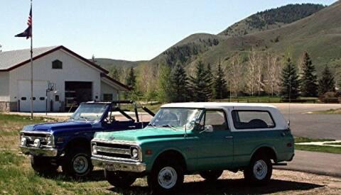 1970 Chevrolet Blazer for sale at Classic Car Deals in Cadillac MI