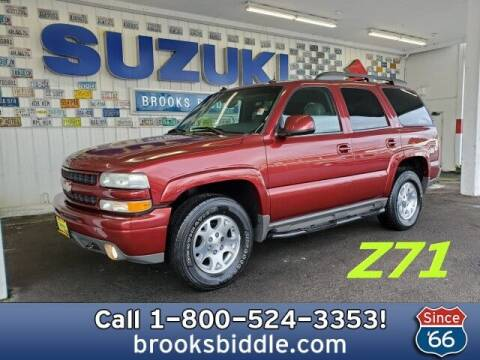 2003 Chevrolet Tahoe for sale at BROOKS BIDDLE AUTOMOTIVE in Bothell WA