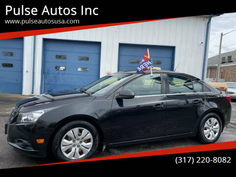 2012 Chevrolet Cruze for sale at Pulse Autos Inc in Indianapolis IN