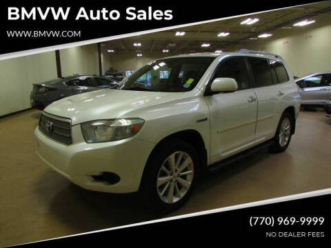 2008 Toyota Highlander Hybrid for sale at BMVW Auto Sales - Hybrids in Union City GA