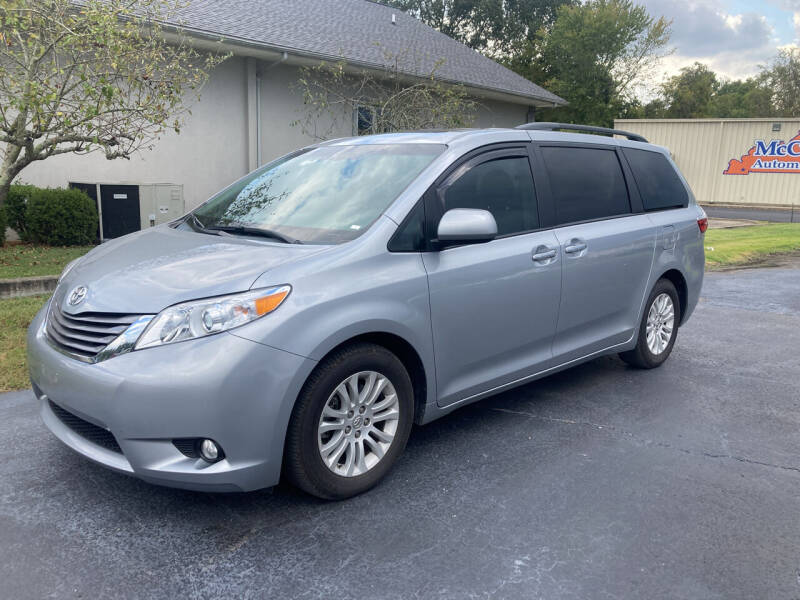 2015 Toyota Sienna for sale at McCully's Automotive - Trucks & SUV's in Benton KY