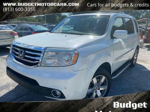 2013 Honda Pilot for sale at Budget Motorcars in Tampa FL