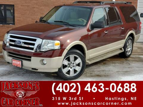 2009 Ford Expedition EL for sale at Jacksons Car Corner Inc in Hastings NE