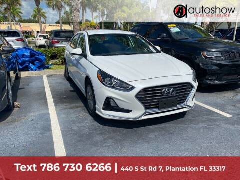 2018 Hyundai Sonata for sale at AUTOSHOW SALES & SERVICE in Plantation FL