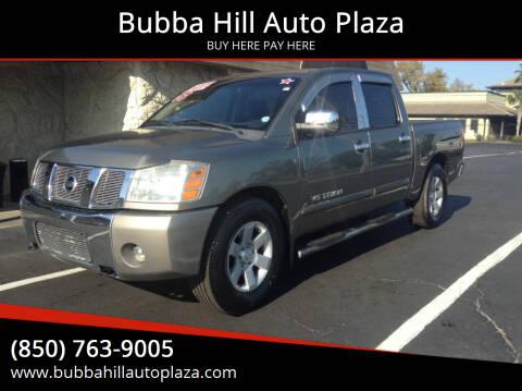 2007 Nissan Titan for sale at Bubba Hill Auto Plaza in Panama City FL