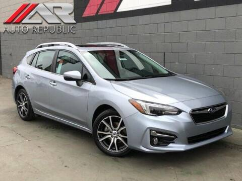2018 Subaru Impreza for sale at Auto Republic Fullerton in Fullerton CA
