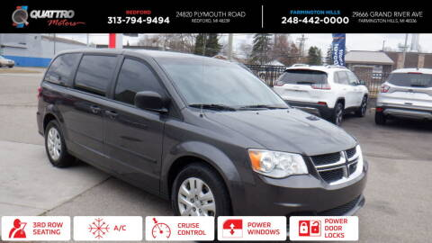 2016 Dodge Grand Caravan for sale at Quattro Motors 2 in Farmington Hills MI
