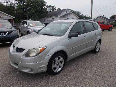 2003 Pontiac Vibe for sale at Jenison Auto Sales in Jenison MI