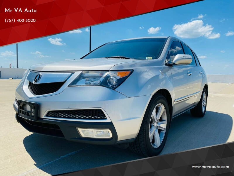 2010 Acura MDX for sale at Mr VA Auto in Chesapeake VA